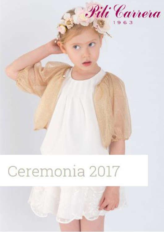 Ofertas de Pili Carrera, Lookbook Ceremonia 2017