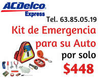 Kit Emergencia ACDelco