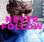 Ofertas de Adidas, Never Follow