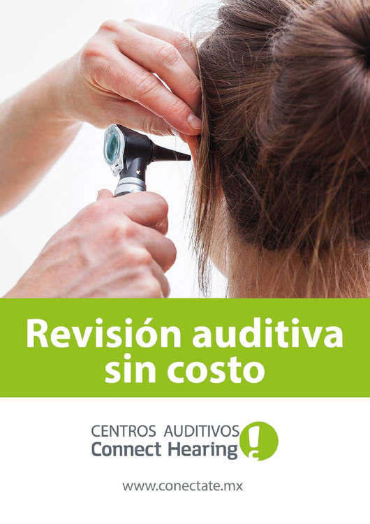 Ofertas de Connect Hearing, Revisión Auditiva sin Costo