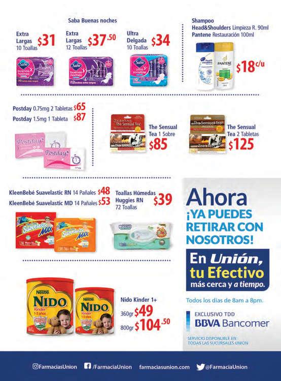 Ofertas de Farmacias Unión, Ofertas Impresionantes