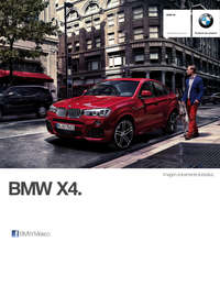 Ficha Técnica BMW X4 M40iA Automático 2017