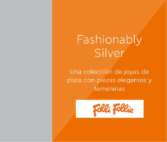 Ofertas de Folli Follie, Fashionably Silver