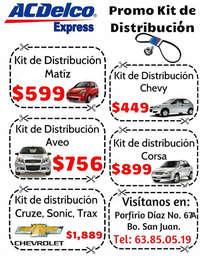 Promos Kit de Distribución ACDelco