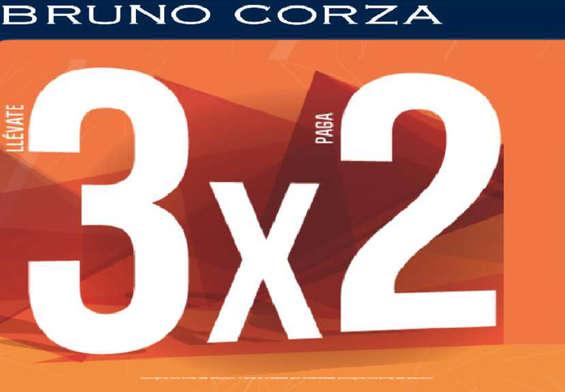Ofertas de Bruno Corza, 3x2