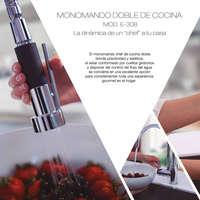 Mezcladoras y Monomandos para Cocina