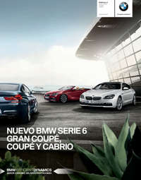 Serie 6 Gran Coupé, Coupé y Cabrio
