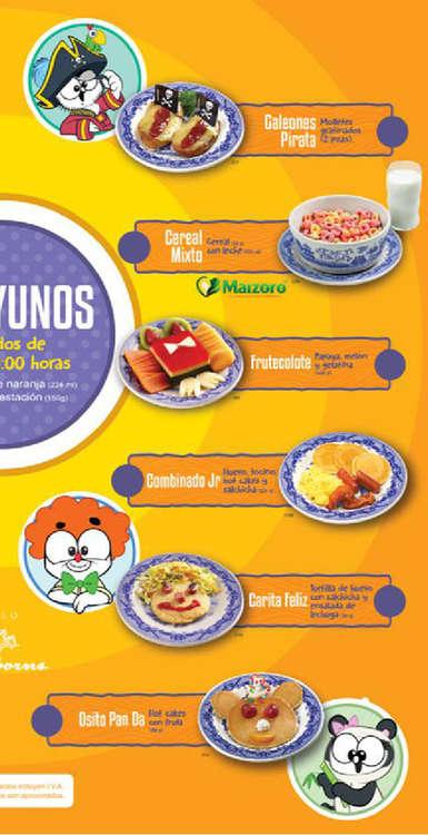 Cereales de desayuno en aguascalientes cat logos for Sanborns azulejos horario