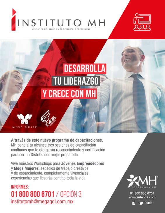 Ofertas de Mega Health, INSTITUTO MH
