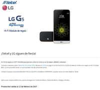 ¡Telcel y LG siguen de fiesta!