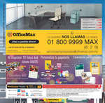 Ofertas de Office Max, Folleto Mensual