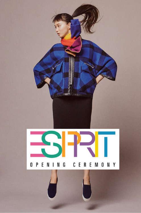 Ofertas de Esprit, Opening ceremony