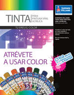 Ofertas de Sherwin Williams, Atrévete a usar color