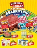 Ofertas de S-Mart, Viernes, Sábado y Domingo Abarrotero El capitán y Los Arcos