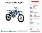 Ofertas de Yamaha, YZ 450F