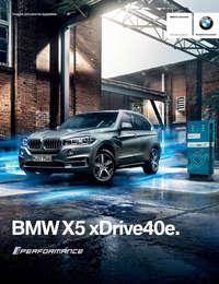Ficha Técnica BMW X5 xDrive40e Excellence Híbrido Automático 2017