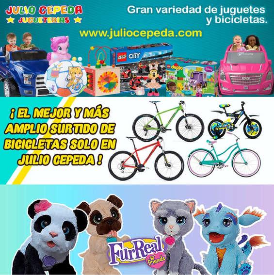 Ofertas de JULIO CEPEDA JUGUETERÍAS, Descuento en surtido de juguetes