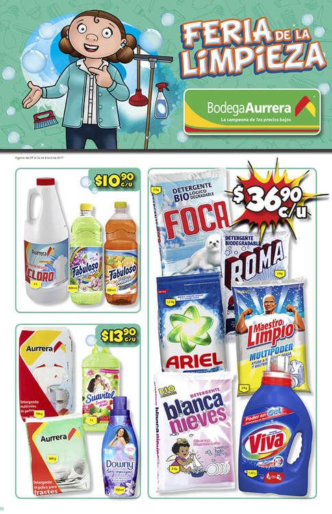 Ofertas de Bodega Aurrera, Feria de la Limpieza