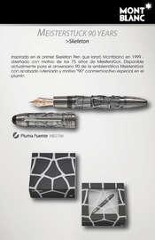 Catálogo Mont Blanc