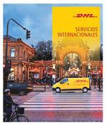 Ofertas de DHL, Servicios Internacionales 2016