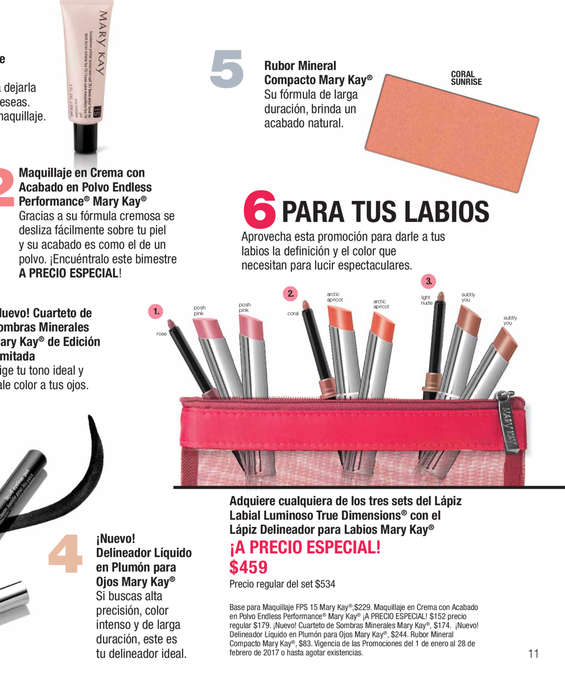 Ofertas de Mary Kay, Tendencias
