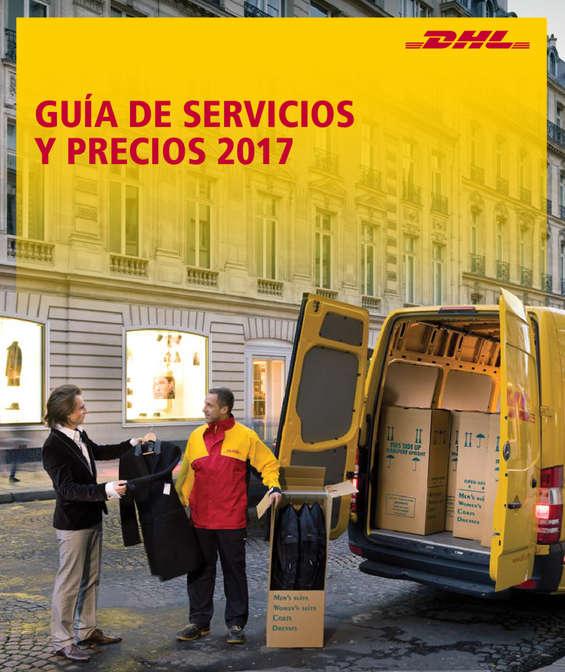 Ofertas de DHL, Guía de servicios y precios 2017