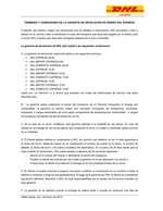 Ofertas de DHL, TERMINOS Y CONDICIONES DE LA GARANTÍA DE DEVOLUCION DE DINERO DHL EXPRESS