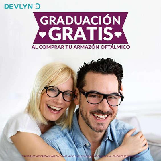 Ofertas de Devlyn, Graduación gratis