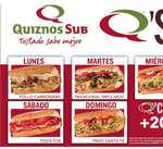 Ofertas de Quiznos Sub, Q'Sub