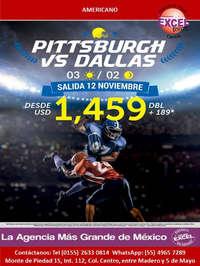 Pittsburgh vs Dallas