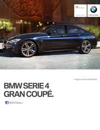 Ficha Técnica BMW 440iA Gran Coupé M Sport Automático 2017