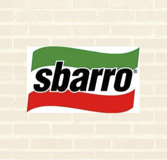 Ofertas de Sbarro, Menú pizzas