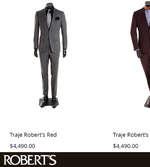 Ofertas de Robert's Identidad, Trajes, suéteres y chamarras