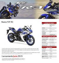 Deportivas Nueva YZF R3