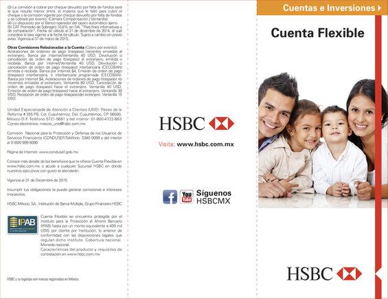 Ofertas de HSBC, Cuenta Flexible