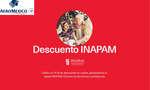 Ofertas de Aeromexico, Descuento INAPAM