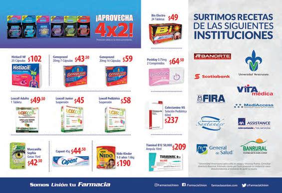 Ofertas de Farmacias Unión, Febrero 2017
