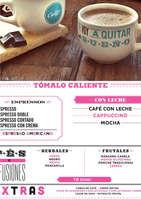 Ofertas de Cielito Querido Café, Menú