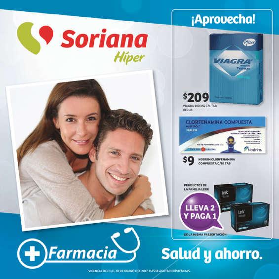 Ofertas de Soriana Híper, Farmacia - Salud y Ahorro