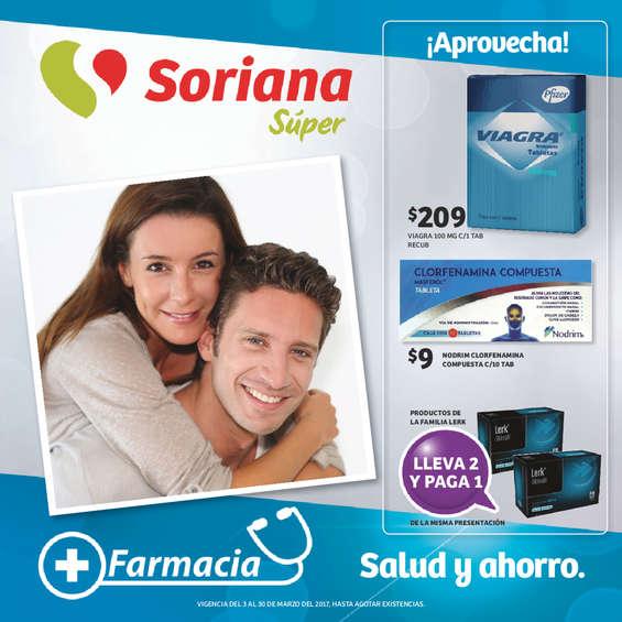 Ofertas de Soriana Súper, Farmacia - Salud y Ahorro