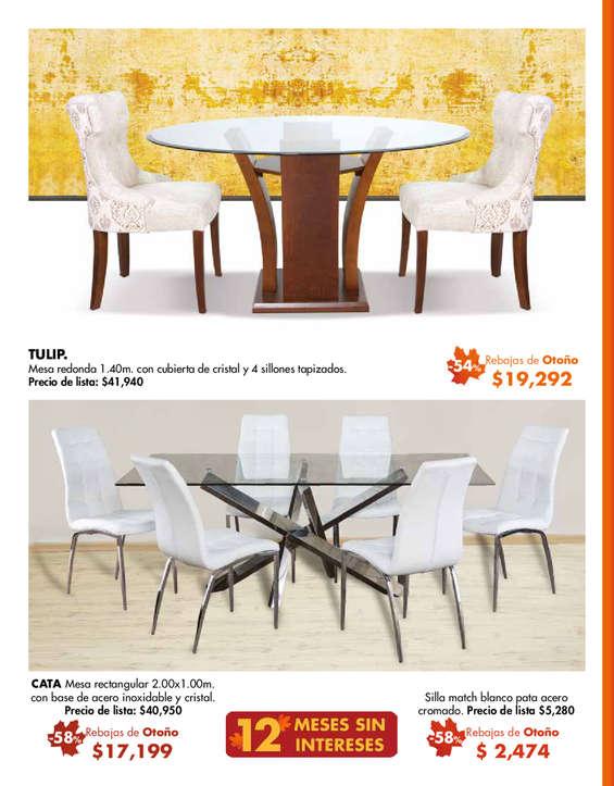 Mesas de comedor cat logos ofertas y tiendas donde comprar barato ofertia - Ofertas mesas de comedor ...
