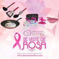 Almacenes Anfora se viste de rosa