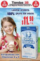 Ofertas de Tiendas Tres B, Descuento leche
