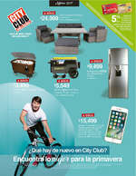 Ofertas de City Club, Marzo 2017