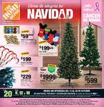 Ofertas de The Home Depot, Llena de alegría tu navidad