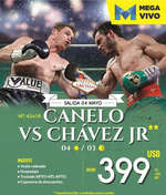 Ofertas de Mega Travel, Canelo vs Chávez Jr.
