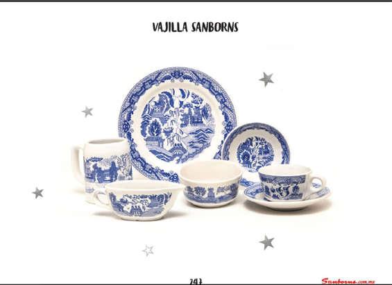 Vajillas porcelana en monterrey cat logos ofertas y for Catalogo de vajillas
