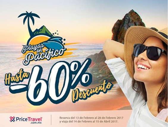 Ofertas de Price Travel, Hasta 60% de descuento
