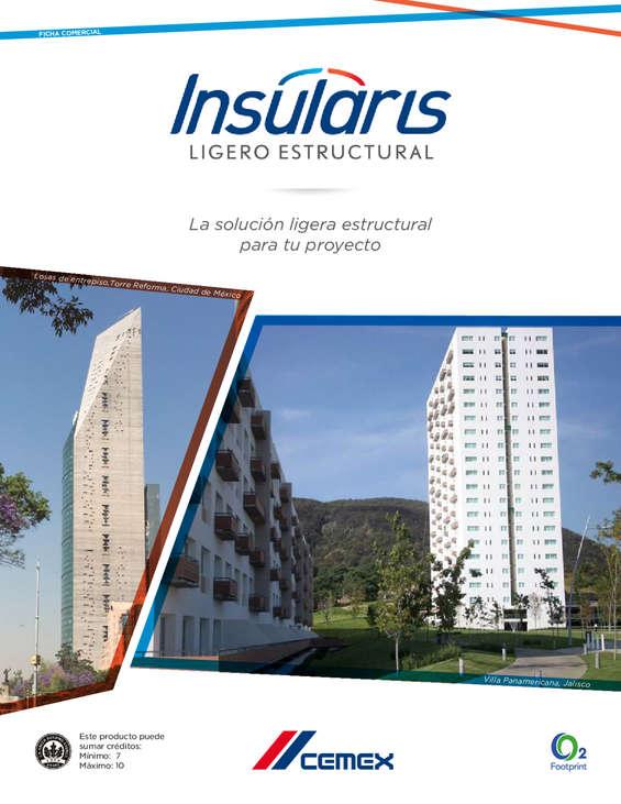Ofertas de Cemex, Concreto Insularis Ligero Estructural