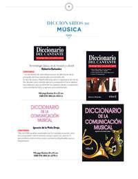 Catálogo Diccionarios Especializados